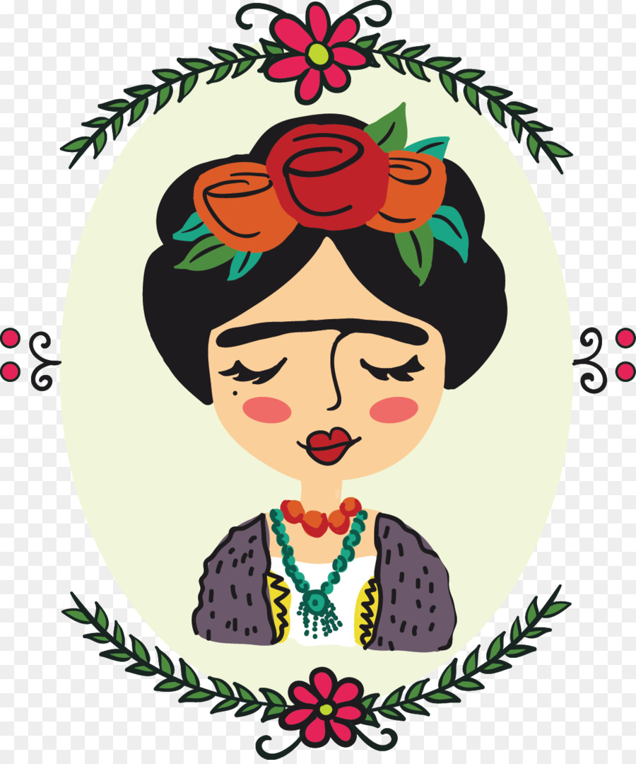 Frida Kahlo png download.