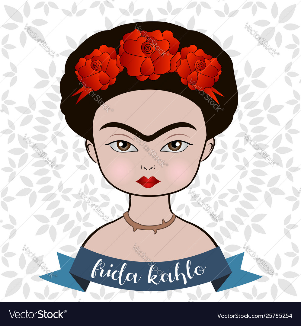 Frida kahlo portrait.