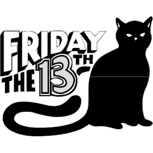 Clipart For Friday The 13th.