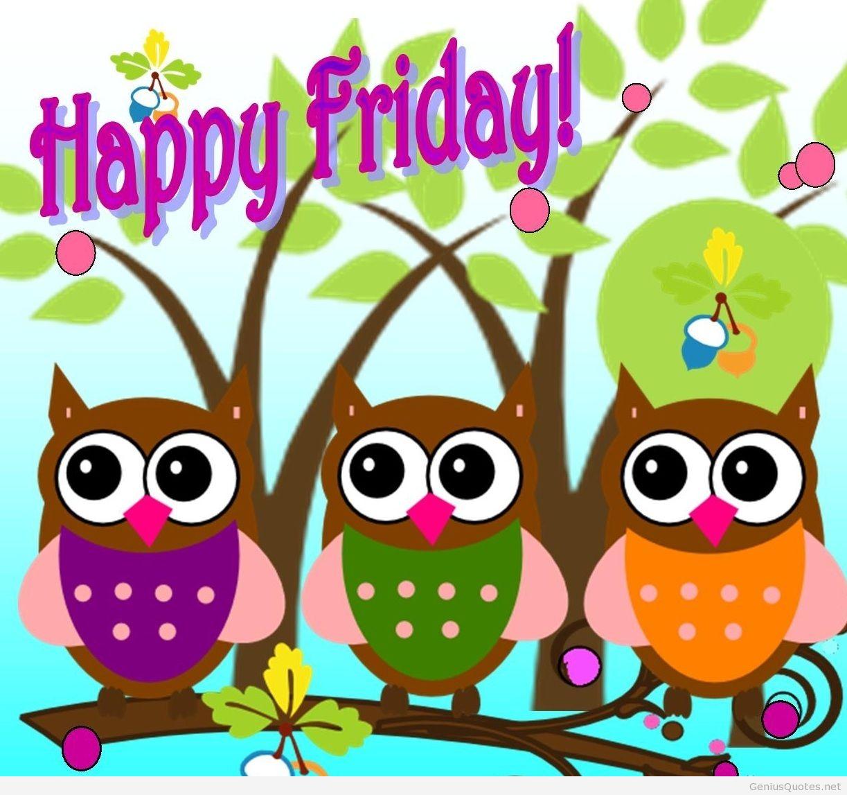 Funny Happy Friday Clipart.