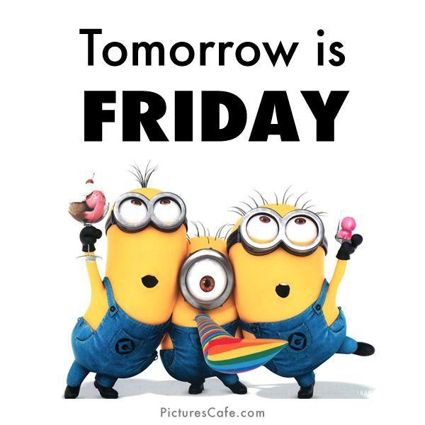 Happy Friday Eve Clipart.