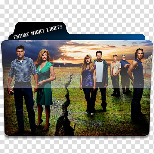 Windows TV Series Folders E F, Friday Night Lights movie.