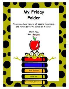 8 Best Friday folders images.