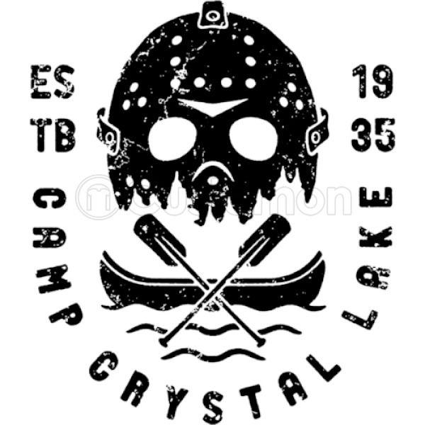 Camp Crystal Lake Friday 13th Travel Mug.