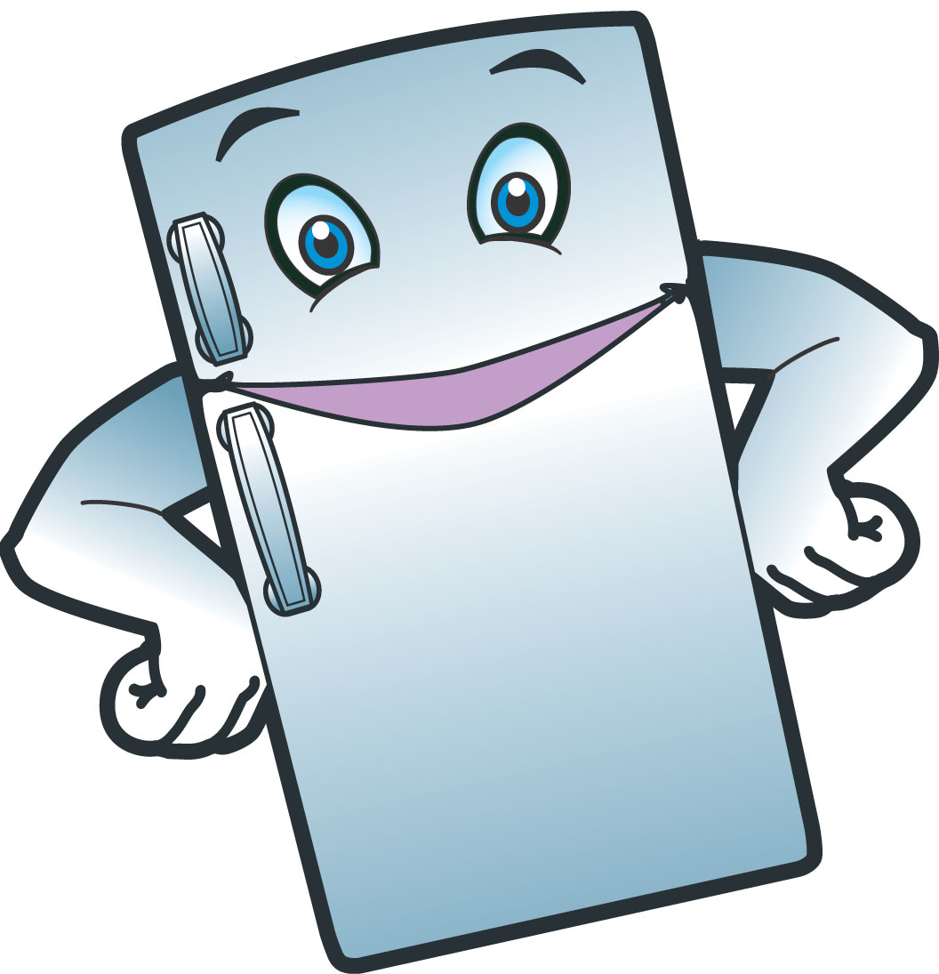 cleaning out refrigerator clipart #15
