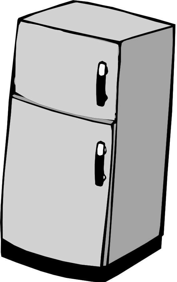 Fridge Clipart.