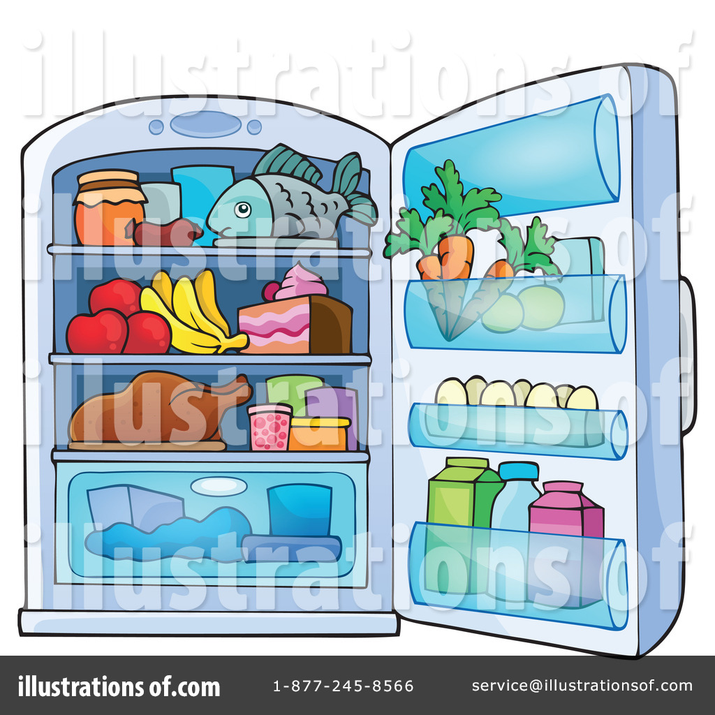 Fridge Clipart #1266804.