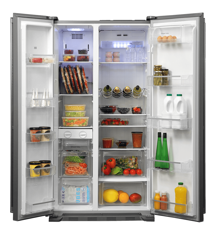 Russel Hobbs Open Fridge transparent PNG.