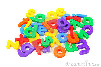 magnetic letters clipart magnet letters on white board.