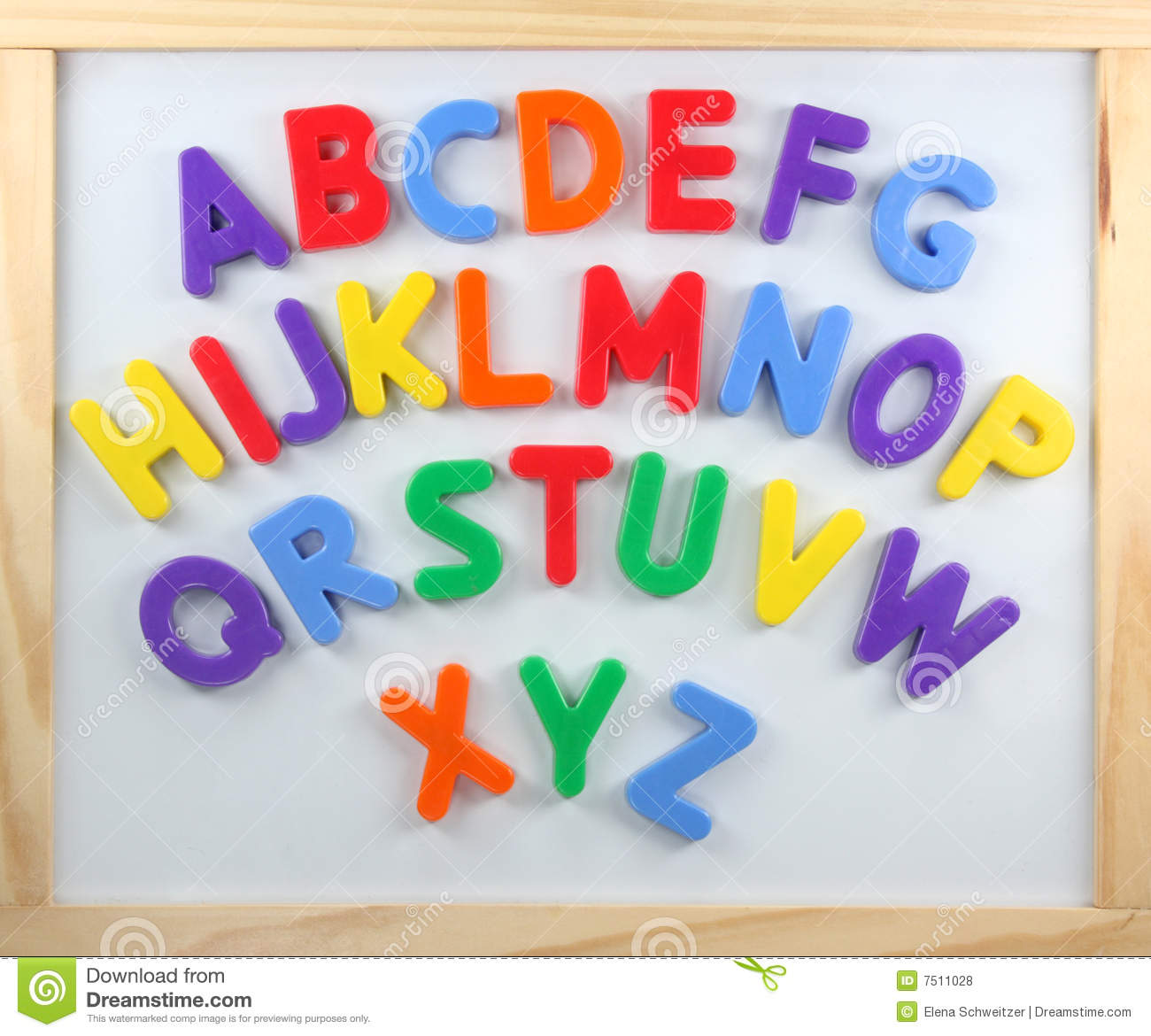spanish plastic magnetic letters. 120 piece magnetic letters.