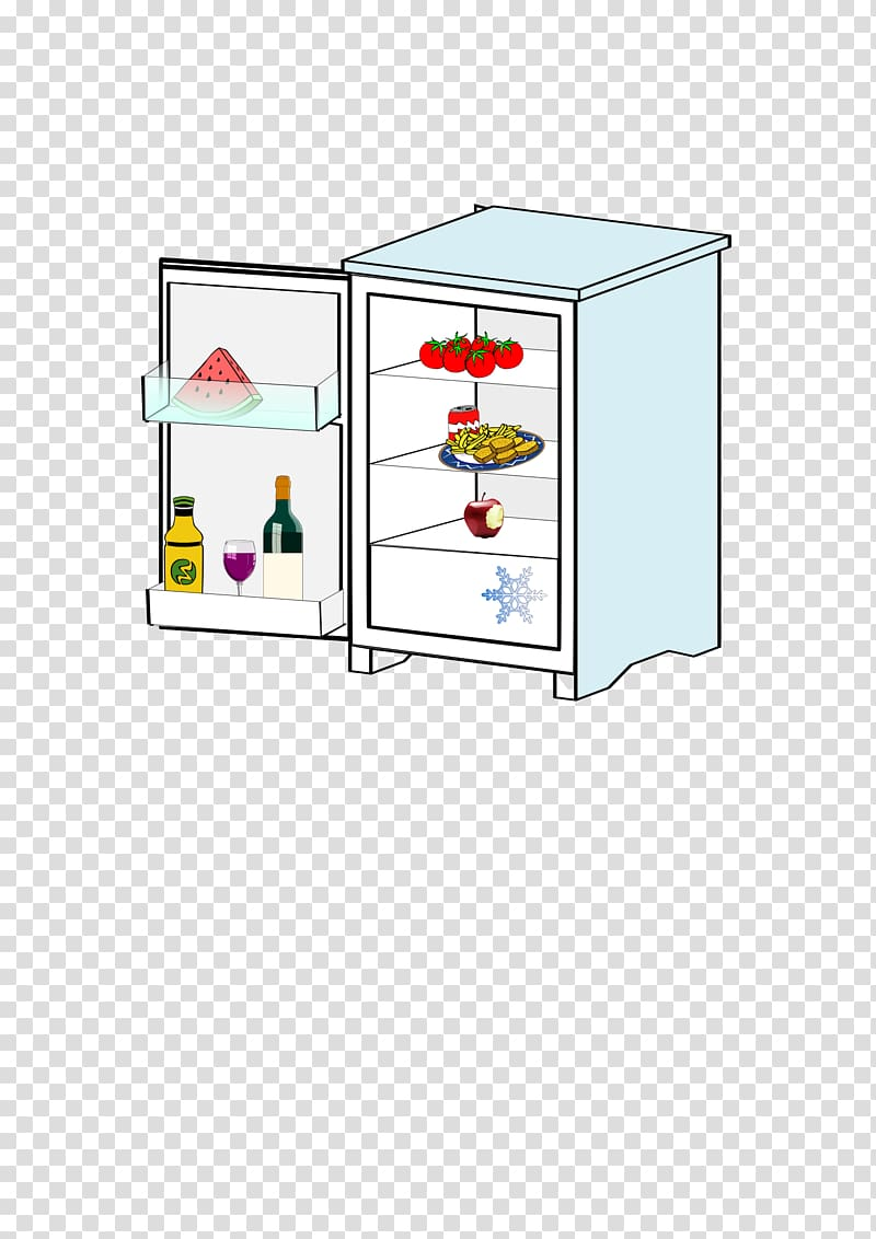 Refrigerator Magnets Freezers , fridge transparent.