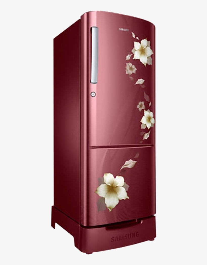 Single Door Refrigerator Png Picture.