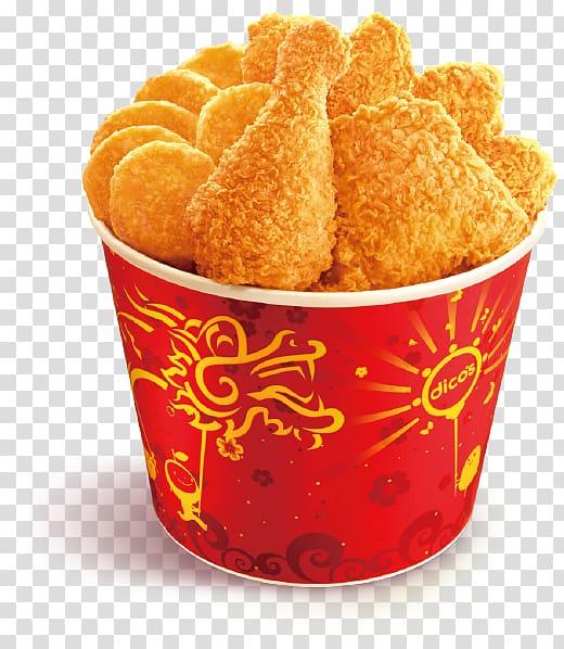 Friend chicken bucket , Fried chicken McDonald\\\'s Chicken.