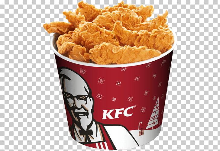 KFC Bucket, bucket of KFC fried chicken PNG clipart.