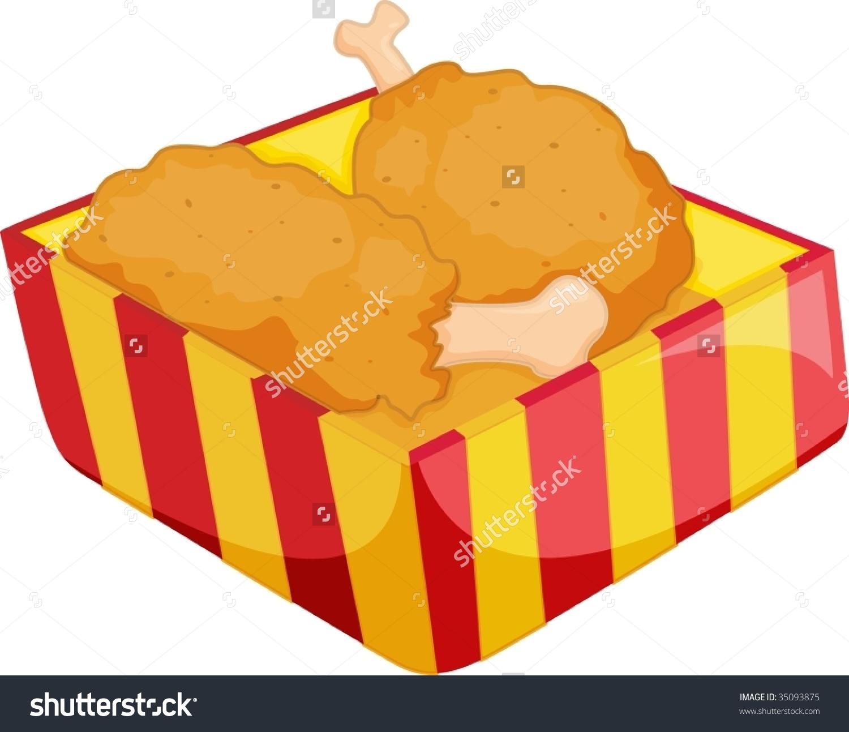 Showing post & media for Cartoon chicken wing dinner.