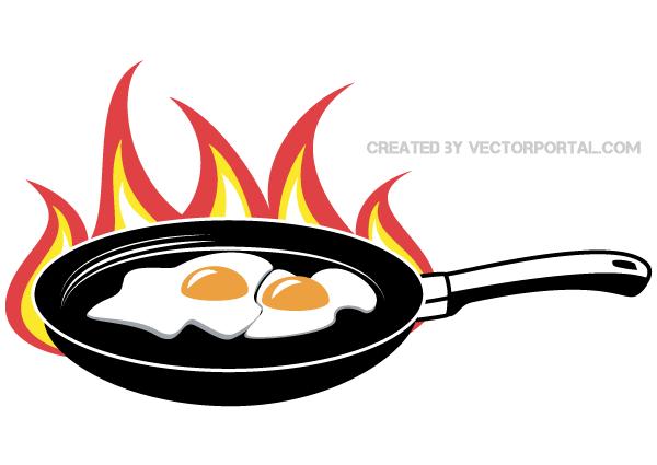 Clipart frying pan.