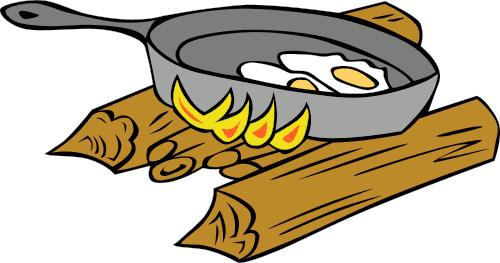 Fried Egg Clipart.