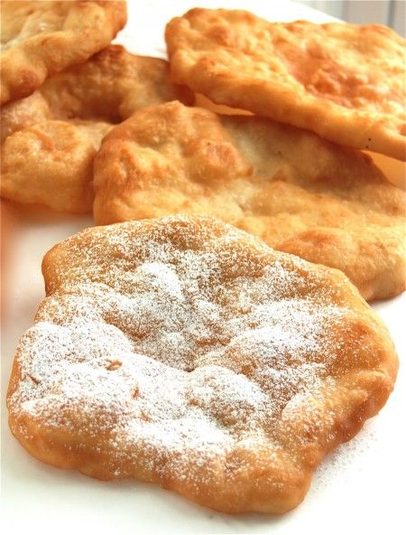 Fried dough! Unbelievably quick and easy to make at home.