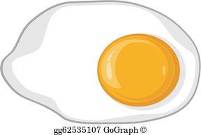 Fried Egg Clip Art.