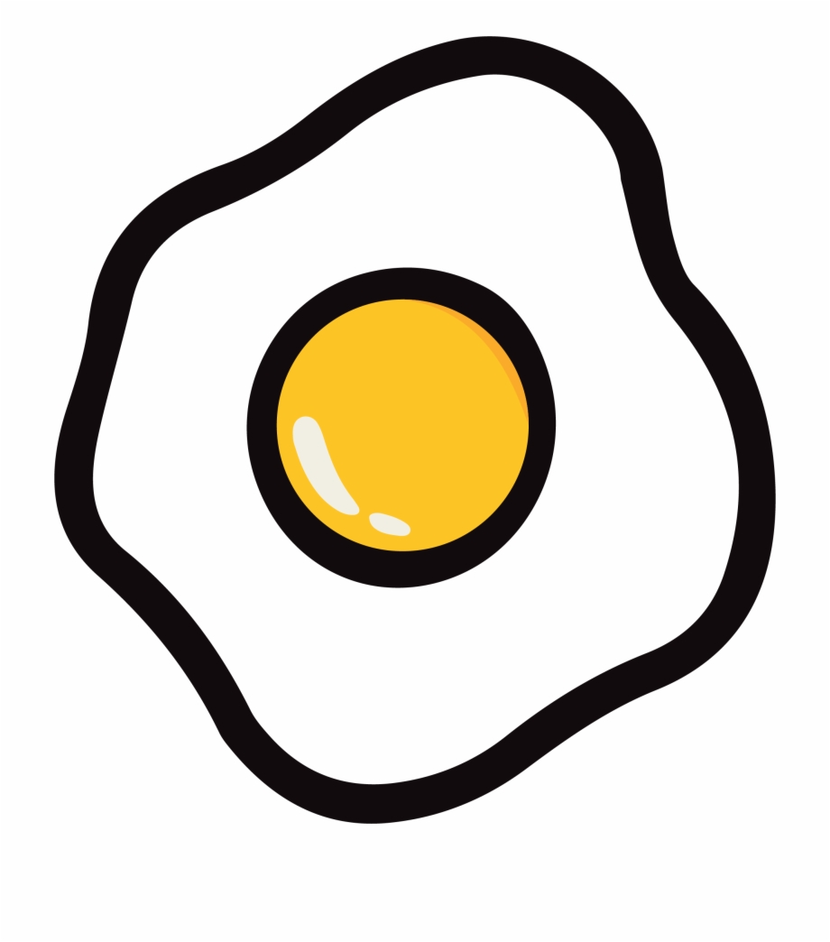 Fried Egg Png Clipart, Transparent Png Download For Free #64826.