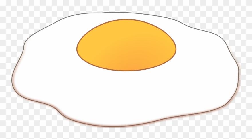 Fried Egg Clipart Black And White.