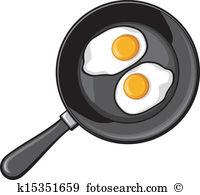 Fried egg Clip Art Illustrations. 3,223 fried egg clipart EPS.