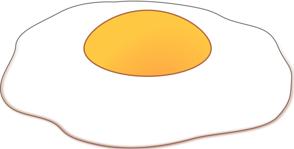 Fried Egg Clipart.