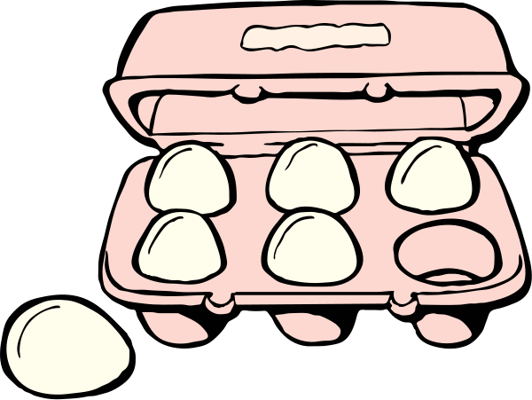 Chicken Egg Clipart Black And White.