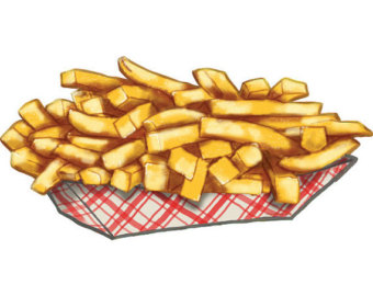 Clip Art French Fries Clipart.