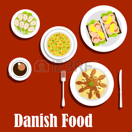 199 Danish Pastry Stock Vector Illustration And Royalty Free.