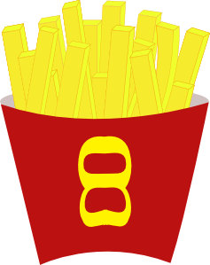 French Free Fries Clip Art at Clker.com.