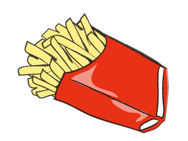Fried Chicken Clip Art: Fried Potato Clipart