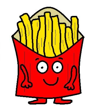 Showing post & media for White french fries cartoon.