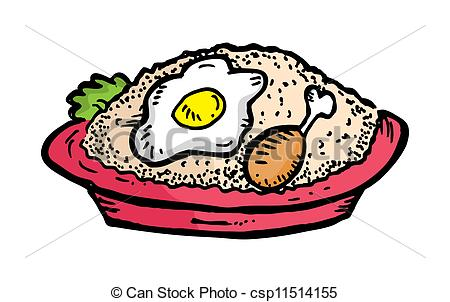 Fried rice Vector Clip Art EPS Images. 565 Fried rice clipart.
