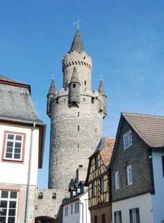 Friedberg, Germany where McRent's RV depot is located.
