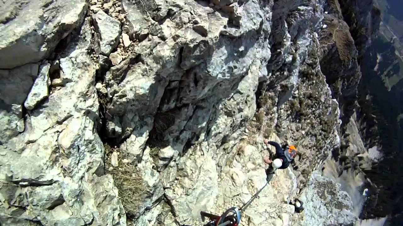 Friedberger Klettersteig.