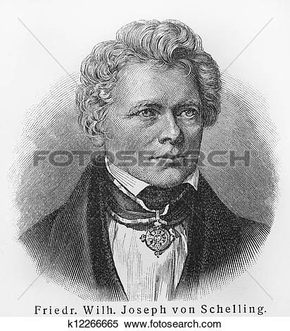 Stock Image of Friedrich Schelling k12266665.