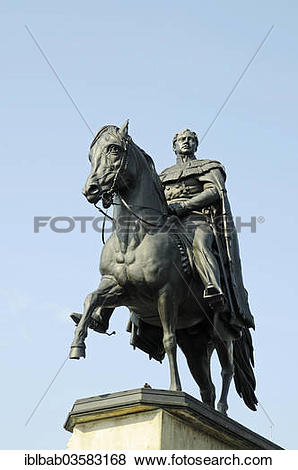 """Pictures of """"Equestrian monument to Kaiser Friedrich Wilhelm III."""