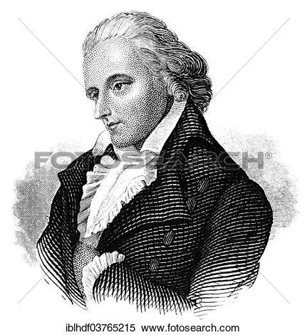 "Stock Image of ""Friedrich Schiller, 1759."