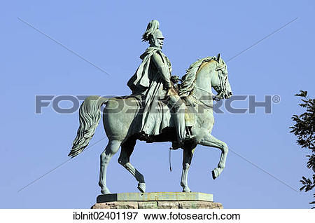"Picture of ""Prussian equestrian statue of Friedrich Wilhelm IV."