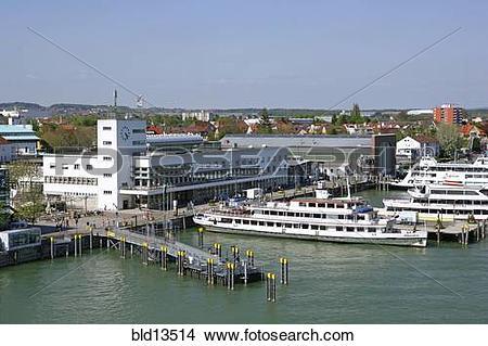 Stock Photo of Germany Friedrichshafen at Lake Constanze bld13514.