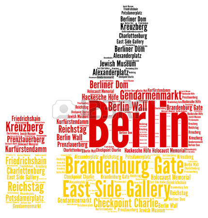 429 Berlin Word Stock Vector Illustration And Royalty Free Berlin.