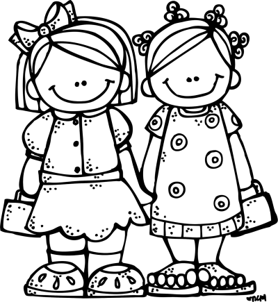 Download Free Png Friend Clipart Black And Whit DLPNG Com Good.