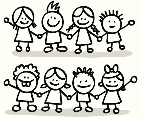 Group Of Friends Clipart Black And White Clip Art Library Useful.