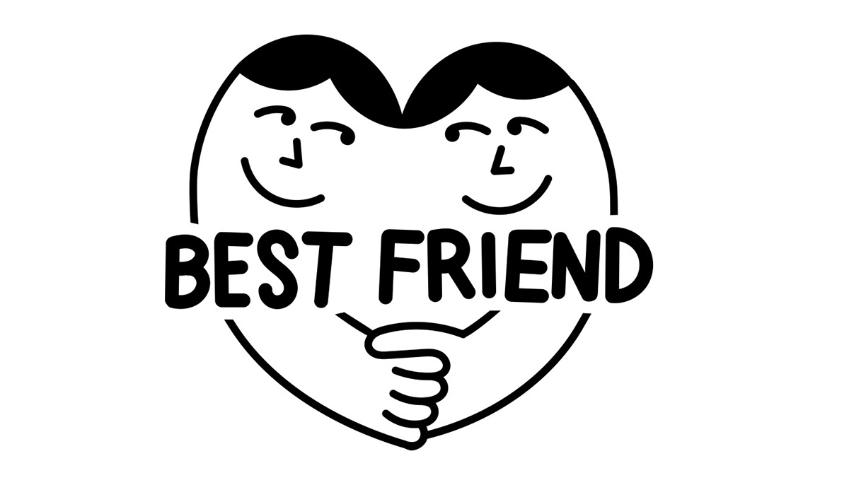 Best Friend Logo on Behance.