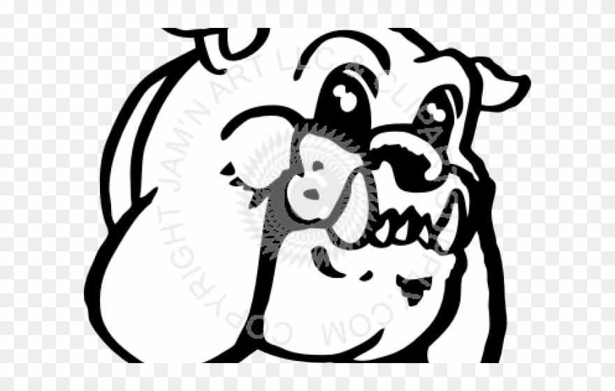 Bulldog Clipart Friendly.