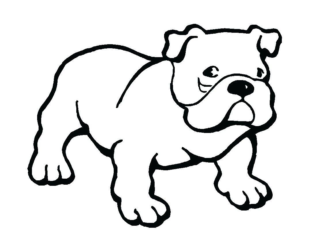 Bulldog Puppy Clipart Dots Fish Clipart Best.