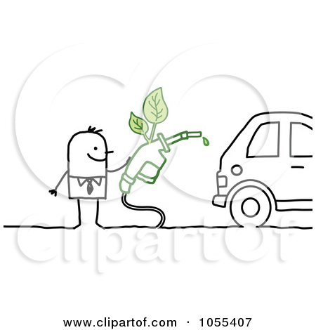 Eco Friendly Cars Clipart.