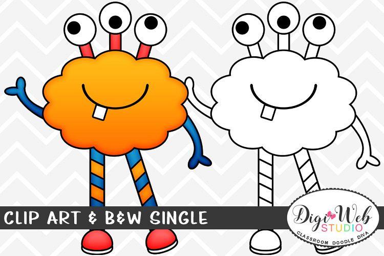 Clip Art & B&W Single.
