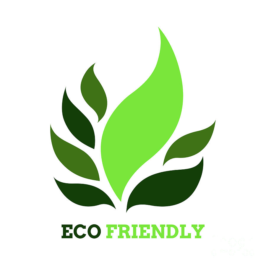 Leaf Tree Flower Eco Friendly Logo Icon Symbol Vector Design Ill.